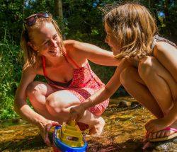 Camping Clos De La Chaume: 4ruisseau Camping Au Clos De La Chaume