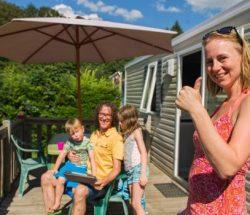 Natuurlijke gezinsvakantie op de camping in de Vosges