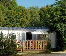 Camping Clos de la chaume: bungalow in de Vosges