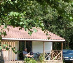 Chalet Cosy in de Vosges, camping Au Clos de la Chaume