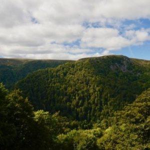 Camping Clos De La Chaume: Panorama Van De Vosges