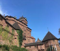 Camping Clos De La Chaume: Buitenaanzicht Van Chateau Haut Koenigsbourg