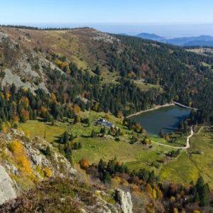 Camping Clos De La Chaume: Panoramisch Uitzicht van het Natuurpark Ballons des Vosges, vierkant