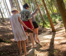 Camping Clos De La Chaume: Blotevoetenpad