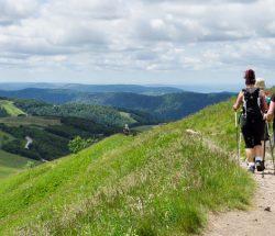 Camping Clos De La Chaume: bergwandeling