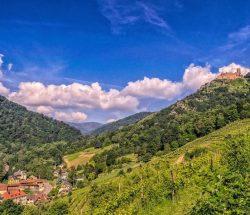 camping montagnes Vosges