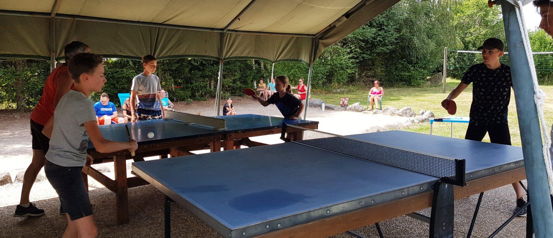 Camping Clos De La Chaume : Ping Pong Camping Au Clos De La Chaume